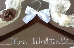 Personalized Wedding Hanger – Hanger Design Center