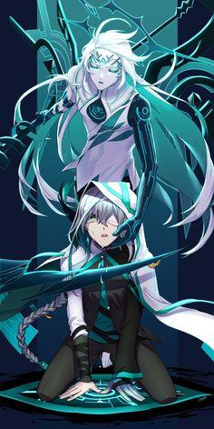 Ain from Elsword! Fantasy Character Design, Character Concept, Character Design Inspiration, Character Art, Oc Manga, Anime Oc, Manga Art, Cute Anime Boy, Anime Guys