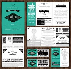 Some recent work: Kookin' for Kids Invitation 2013 on Behance