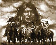 "Lakota Warrior Crazy Horse - Crazy Horse is known as one of the bravest warriors of his time. He entered each battle with the cry ""Today is a good day to die!"", not as a death wish, but to show his absolute fearlessness in the face of peril"