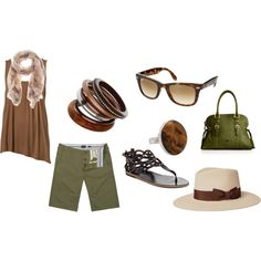 Bring on summer, created by #sara-shaw-stoltman on polyvore.com