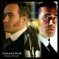 D.I Edmund Reid | Ripper Street
