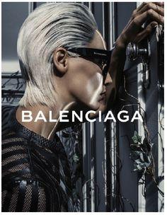 New eyewear campaign! #balenciaga