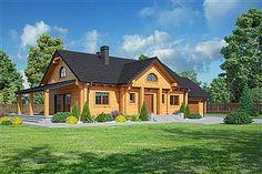 Projekt domu Chmielów 94,74 m2 - koszt budowy - EXTRADOM Bali, House Styles, Home Decor, Decoration Home, Room Decor, Home Interior Design, Home Decoration, Interior Design