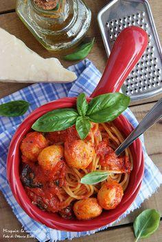 Spaghetti & Cheese balls