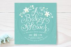A Baby Shower Baby Shower Invitations by Lori Wemple at minted.com