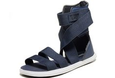 Fashion Campagus Summer Elastic Converse Gladiator Shoes All Star Blue High  Tops Sandals  D4051005  -  58.00   Designer Converse American UK Flag and  All ... 7c22be23b04