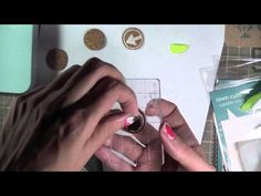 DIY Cork Embellishments for Project life and scrapbooking - YouTube