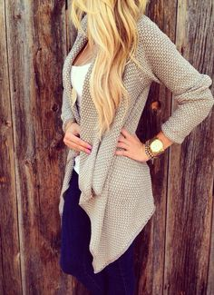 cute and cozy sweater.