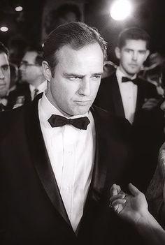 "Marlon Brando arriving at the Film Premier of "" Mutiny on The Bounty"" Circa 1962. #Brando"