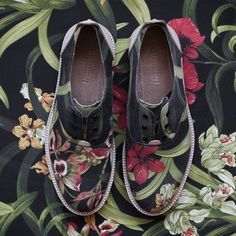 Flowers Print #Shoes