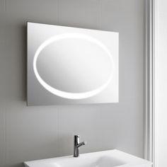 Miroir lumineux horizontal pour salle de bain Syst¨me d éclairage