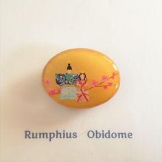 立雛の帯留 檜のプチプライス版   Rumphius 帯留