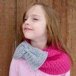 Bow Scarf Crochet Pattern