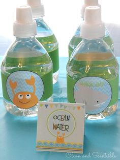 Love all of these Under the Sea party ideas!!