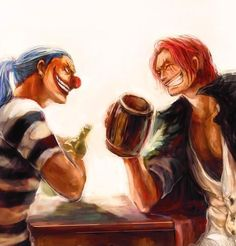 Buggy & Shanks,Red-Haired Shanks - One Piece,Anime