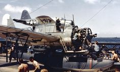 Kingfisher on USS South Dakota