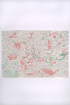 An Uncles Guide To London Map