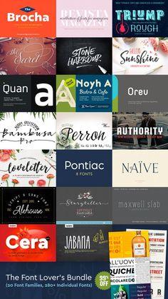font-lovers-bundle