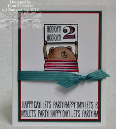 Cute Critters by Emma F - Cards and Paper Crafts at Splitcoaststampers