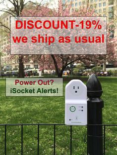 iSocket is the world's first power outage monitoring device with remote temperature monitoring features and Open API for developers and business customer Power Outage, Us Shipping, Peace Of Mind, Remote, Business, Store, Business Illustration, Pilot