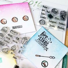Cards created by designer Chrissie Tobas using the Sweet Stamp Shop Treats and Scouts For Her stamp sets