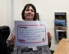 Lisa Finch TTTD pledge