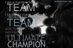 I am a member of a team.... Norcovolleyball.com Volleyball Motivation, A Team, Champion, My Love, Movies, Movie Posters, Film Poster, Films, Popcorn Posters