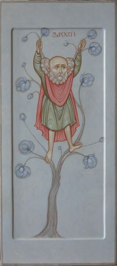 ZacchZeus  (the tax collector) icon. From the story in LUKE 19:1-10