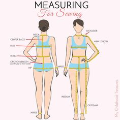 sewing measurements,