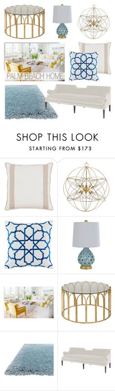 """Palm Beach Home"" by kathykuohome ❤ liked on Polyvore featuring interior, interiors, interior design, home, home decor, interior decorating, homedecor and palmbeach"