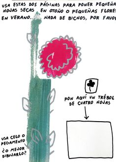 Ilustración de Keith Haring para la obra El libro de las pequeñas cosas de Nina.