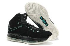 Nike Air Max LeBron James X EXT CORK QS Black Basketball shoes