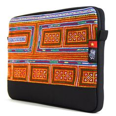 "Vietnam 6 Dep Sleeve for MacBook Pro 15"" - Socially Responsible Laptop Bags by Ethnotek - Direct Trade - Fair Trade - Social Entrepreneurs - Handmade Textiles - Global Artisans - Vietnamese Textiles - Travel Sleeve - Wanderlust - MacBook - Laptop Case - www.EthnotekBags.com"