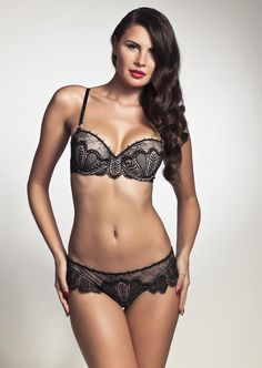 6292b159e81e Pleasure State - 'Sicily' Contour Balconette Bra and Thong (@Christina  Childress &