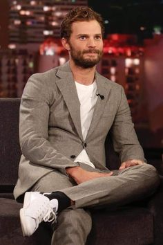 ❤️❤️ Fifty Shades Darker, Fifty Shades Of Grey, Jamie Dornan Interview, Mr Grey, Oh My Love, Irish Men, Christian Grey, Perfect Man, Movies And Tv Shows