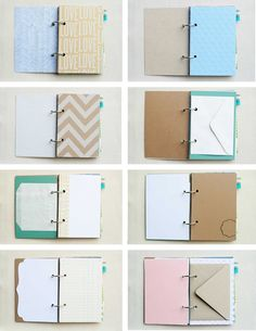 The Creative Place: journals  | by CreativePlace, an indie scrapbook maker ~~~~~~~~~~