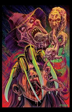 My famous Freddy illustration.. everyone loves it 11X17 inches !signed on request