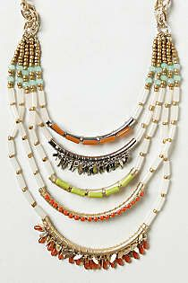 Anthropologie - Corallina Ladder Necklace