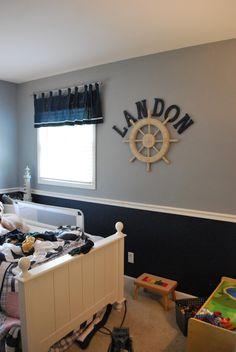 leisure living: Boys' Room Makeover :: Progress Update
