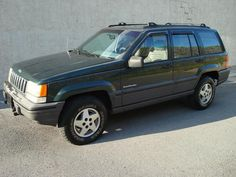 Love a Cherokee!  We drove ours until the engine literally fell out of it.  Jeep Grand Cherokee Laredo