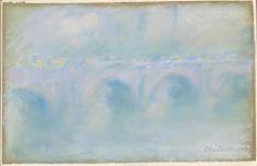 Waterloo Bridge by Claude Monet (1840–1926).