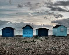 Seaside shacks