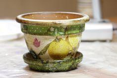 craftsouz: Отчет. Декупаж на керамике.