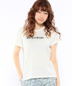 Another Edition(アナザーエディション)のロゴ刺しゅうTシャツ/AEBC LOGO EMBR T(Tシャツ/カットソー)|詳細画像