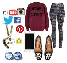 Todays Outfit { 1 } by claudiadarcy101 on Polyvore featuring polyvore, fashion, style, River Island, Jeffrey Campbell and Lazy Oaf. I hope you like the set ! Follow and like to see more !   Instagram : _polyvore_fashionista101_ Polyvore : claudiadarcy101
