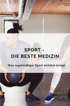 Erfahre hier, was regelmäßiger Sport alles für dich tun kann.
