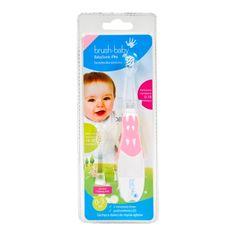 BRUSH-BABY BabySonic PRO to szczoteczka soniczna dla dzieci zaprojektowana tak aby pomóc rodzicom w utrzymaniu prawidłowej higieny jamy ustnej najmłodszych dzieci. Szczoteczka soniczna dla dzieci BRUS Baby Toothbrush, Sonic Electric Toothbrush, Teeth Health, Healthy Teeth, Dental Health, Oral Health, Proactive Skin Care, Thing 1, First Tooth