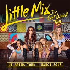 The world's biggest girl group are back at last! Little Mix have announced a major UK arena tour, stopping at the Capital FM Arena Nottingham on 23 March. The news comes hot on the heels of their new worldwide smash hit single 'Black Magic'.