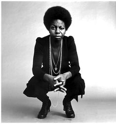 The mesmerizing and sublime Nina Simone (photographed by Jack Robinson).